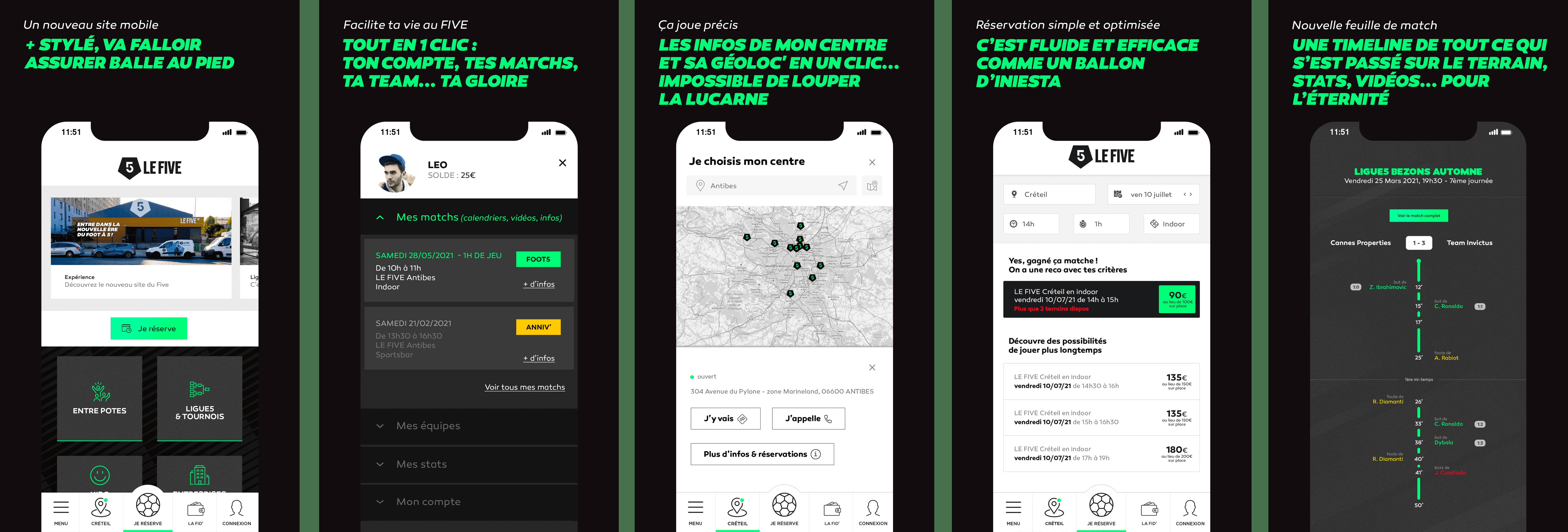 Écrans Nouveaux Sites Web